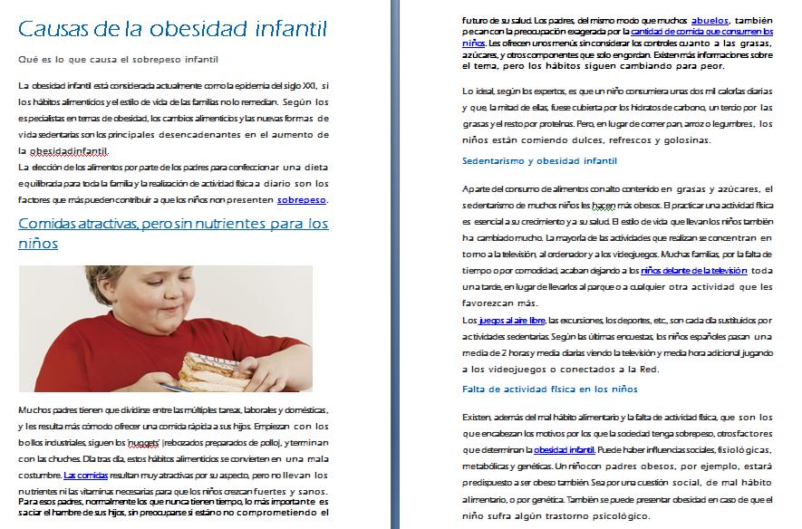 OBESIDAD INFANTIL 1